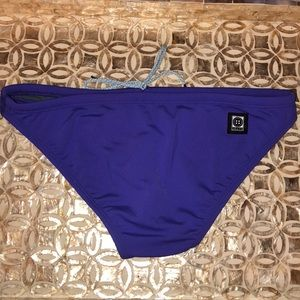 Purple swim bottoms